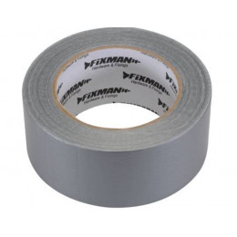 ADHESIF TOILE ROBUSTE 50MM X 50M ARGENT