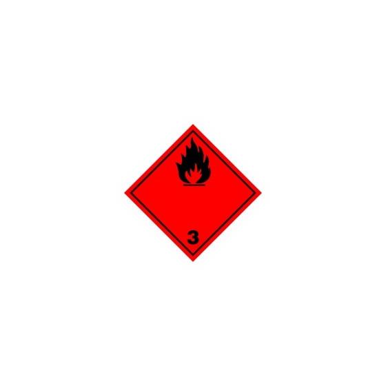 Symbole de danger 300x300 adhésif N°3/N