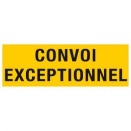 Panneau CONVOI EXCEPTIONNEL 1900 x 250 Classe B Adhésif