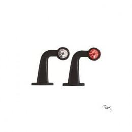 Feu gabarit souple coudé GM ampoule EM0084L