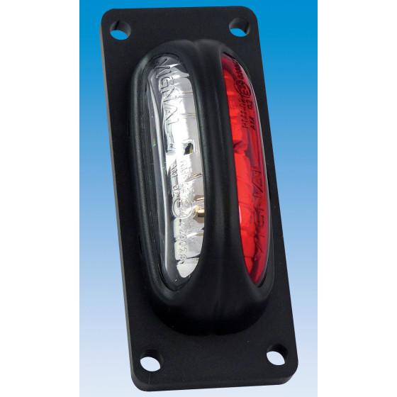 FG D'ENCOMBREMENT LED ROUGE/BLANC VIGNAL 112710