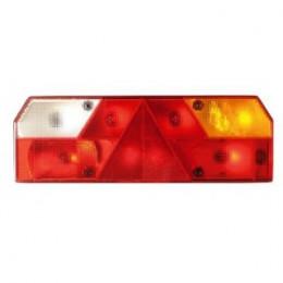 Cabochon feu arrière DROIT avec triangle réfléchissant 0023C