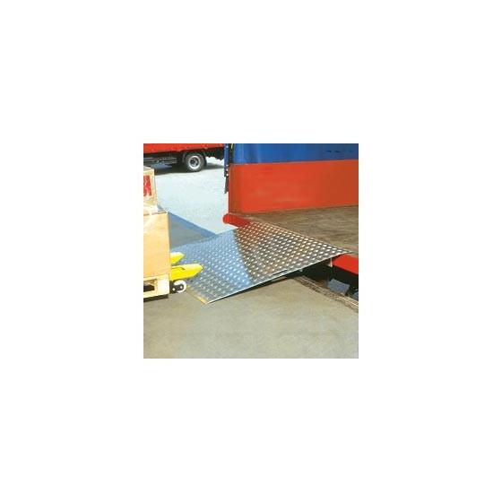 Pont de chargement en alu 750 x 1250 /600kg/20kg